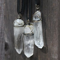 Raw Crystal Necklace Crystal Jewelry Healing Crystal Necklace Mineral Jewelry Raw Stone Jewelry Crystal Necklace Natural Stone Jewelry