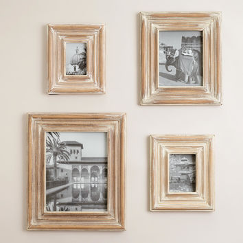 Whitewash Colin Frames - World Market