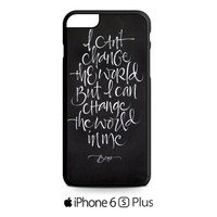 bono quote iPhone 6S  Plus  Case