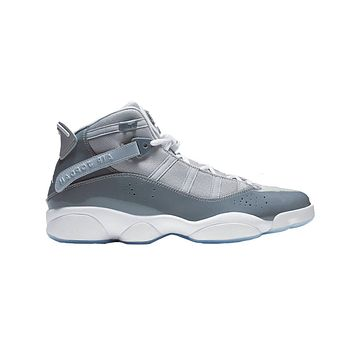 Air Jordan Men's 6 Rings Cool Grey White Black