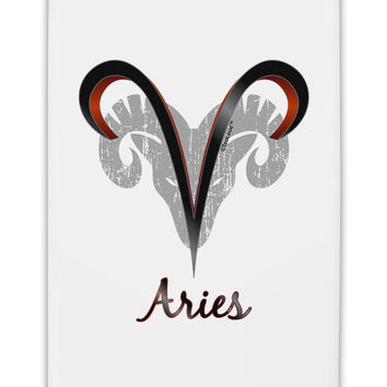"Aries Symbol Fridge Magnet 2""x3"