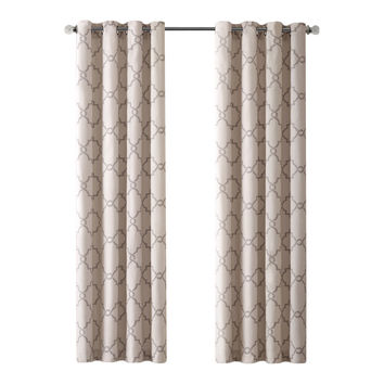Madison Park Saratoga Single Curtain Panel & Reviews | Wayfair