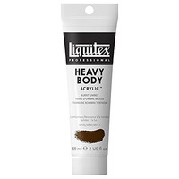 Liquitex Professional Heavy Body Acrylic Paint 2-oz tube, Burnt Umber