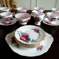 Antique Christian Dior signature Royal Standard dessert service tea set