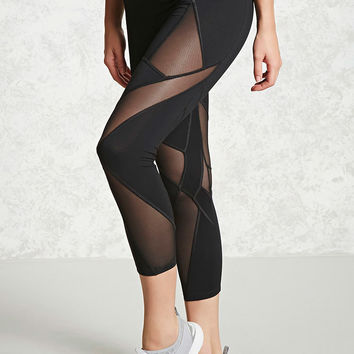 Active Geo Mesh Leggings