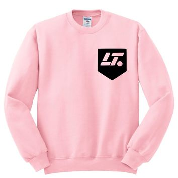 "Louis Tomlinson ""LT Pocket Logo"" in Corner Crewneck Sweatshirt"