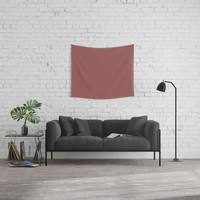 Marsala Wall Tapestry by spaceandlines
