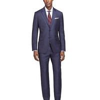 Milano Fit Sharkskin 1818 Suit - Brooks Brothers