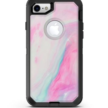 Marbleized Soft Pink - iPhone 7 or 8 OtterBox Case & Skin Kits