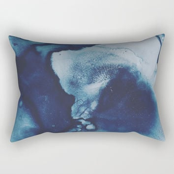 Seeking Peace Rectangular Pillow by duckyb