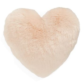 Nordstrom at Home 'Cuddle Up' Faux Fur Heart Accent Pillow | Nordstrom