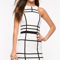 Walk The Line Bodycon Dress