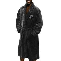 Oakland Raiders NFL Men's Silk Touch Bath Robe (L/XL)