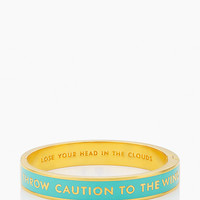 Kate Spade Lose Your Head In The Clouds Idiom Bangle Pool Blue ONE