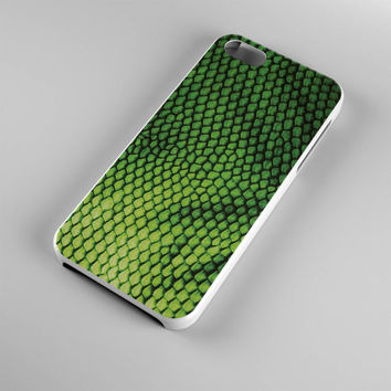 DS283-iPhone Case - Iphone 5 case-Iphone 5s case - Iphone 4 case - Iphone 4s case - Iphone Cover -Animal Print Guana iPhone Case