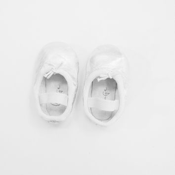 Silver Baby Ballet Flats