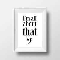 Music Poster - Music Print - Typography Poster - Wall Decor - Graphic Poster - Quote Print - Wall Art Quote - Home Decor - Dorm Decor