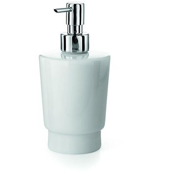 LB Napie Wall Mounted Soap Lotion Dispenser Pump for Kitchen/ Bathroom Chrome