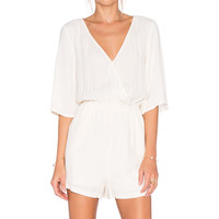 BB Dakota Shania Romper in Vanilla