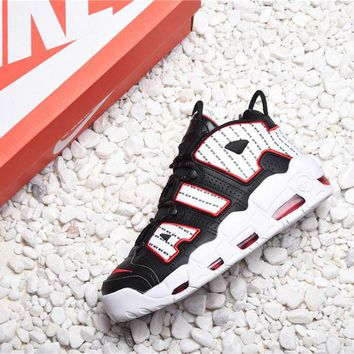 Nike Air More Uptempo 96 Pinstripe Basketball Shoes - Best Online Sale