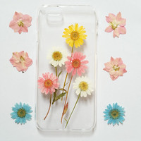 iPhone 5s Case Floral, iPhone 5 Case Clear, Pressed Flower iPhone 5ss Case, samsung galaxy s4 case, s5 case, note 3 case, samsun galaxy case