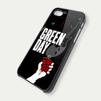 Green Day iPhone 5 Case, iPhone 4 Case, iPhone 4s Case, iPhone 4 Cover, Hard iPhone 4 Case FDL13