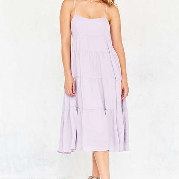 Kimchi Blue Leigh Tiered Midi Dress - Urban Outfitters