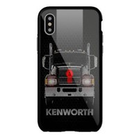 New Kenworth Truck Automotive Grill iPhone 7 7+ 8 8+ X Hard Plastic Protect Case