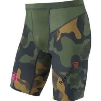 Reebok Men's CrossFit Camo Compression Shorts