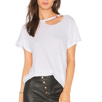 LNA Kissed Tee in White | REVOLVE