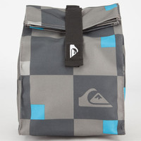 Quiksilver Hot Mess Lunch Sack Grey Checks One Size For Men 24011891701