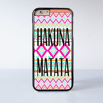 HAKUNA MATATA Plastic Case Cover for Apple iPhone 6 6 Plus 4 4s 5 5s 5c
