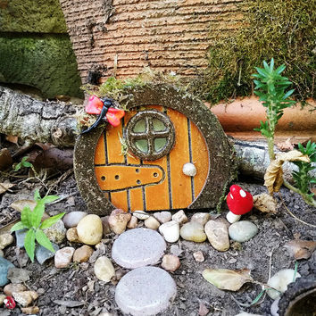 Fairy Door, Gnome Door, Fairy Garden Accessory, Fairy Garden Kit, Terrarium Kit, Wooden Fairy Door, Fairy Tree Door, Miniature Garden Door