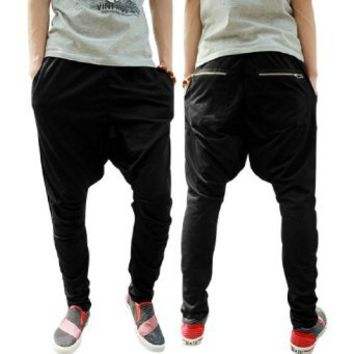 Allegra K Mens Drawstring Elastic Waist Sweatpants Sports Pants