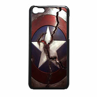 Captain America Broken Shield iPhone 5c Case