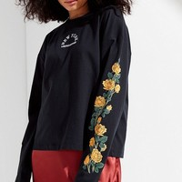 UO New York Floral Tee | Urban Outfitters