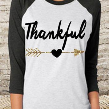 DCCKB62 Christmas letters printing raglan sleeve round collar T-shirt render unlined upper garment