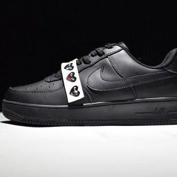 LMFONA Originals Nike Air Force One 1 Low All Black AF1 '07 315122-001