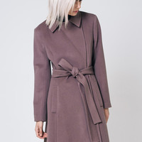 Taupe Coat Brown Wool Coat Coffee Coat Taupe Coat Long Wool Coat Spring Coat Women Coat Brown