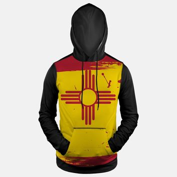 New Mexico State Flag Hoodie (Ships in 2 Weeks)