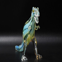 Handmade Tobacco Glass Smoking Pipe - Animal Collection - Tyrannosaurus