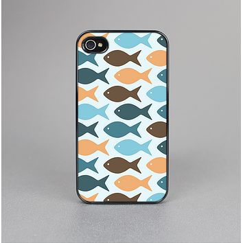 The Vector Fishies V1 Skin-Sert Case for the Apple iPhone 4-4s