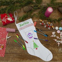Christmas Stocking to personalize and decorate