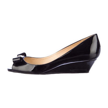 Kate Spade Patent Leather Wedges w/ Tags