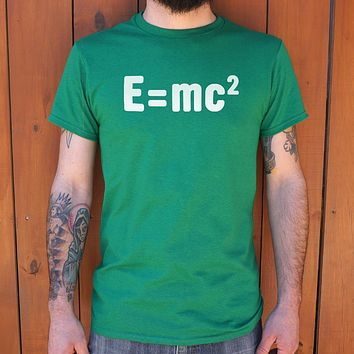 Albert Einstein Formula [Mass–Energy Equivalence] Men's T-Shirt