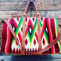 Totem Big Daddy Serape Overnight Bag