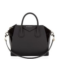 Givenchy Small Contrast Antigona Tote Black | Harrods