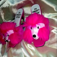 SWEET LORD O'MIGHTY! SLUTTY POODLE HEELS