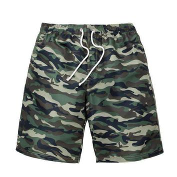 Camo Rave/Board Shorts