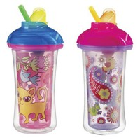 Munchkin 10oz. Click Lock Insulated Straw Cup (2 pack)